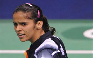 Sainal Nehwal of India in Asiad 2010