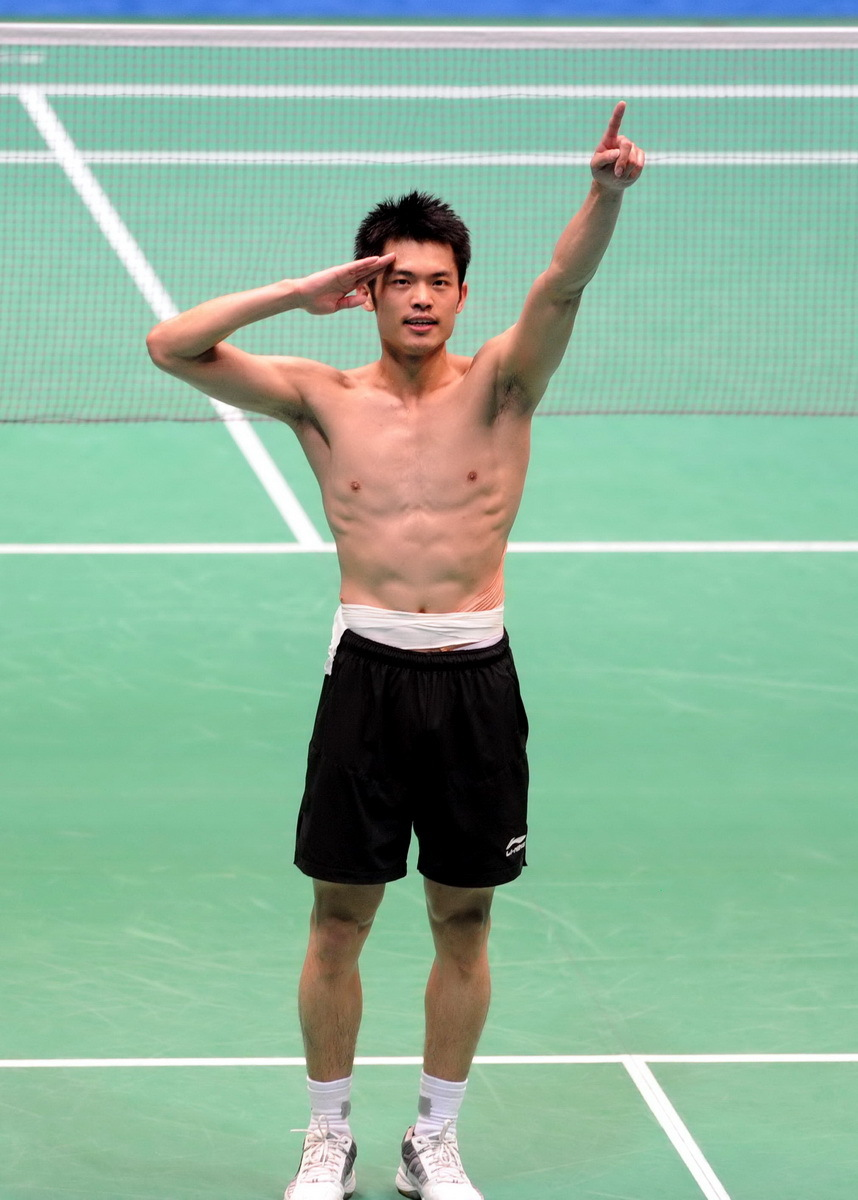 Olympic and three-time world champion Lin Dan finally added the Asian Games trophy, the only glory eluding him, to his collection when he outplayed world number one Lee Chong Wei in a breath-taking badminton final here on Sunday.