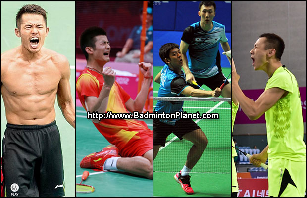 BWF 2014 badminton players of the year nominees