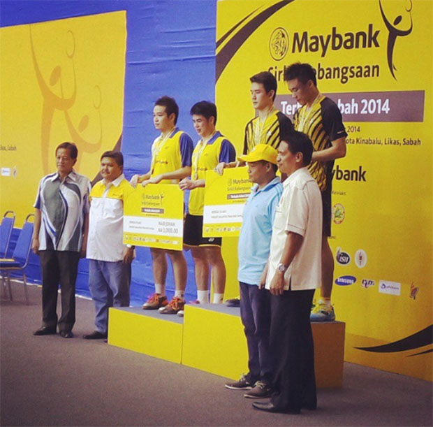 From underdog to champion - Mak Hee Chun/Tan Bin Shen win Sabah Open
