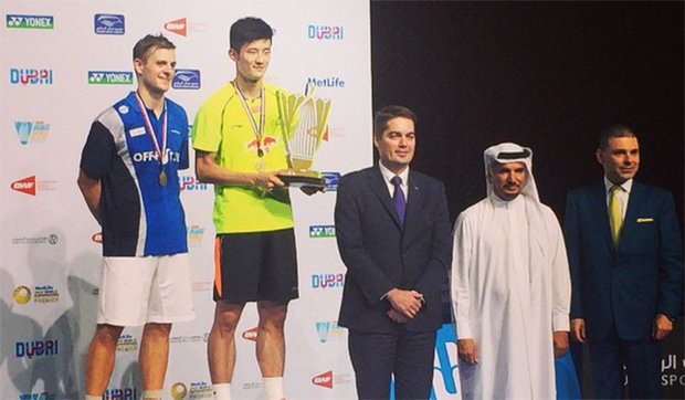 Chen Long wins BWF World Superseries title in Dubai