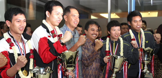 Indonesia Badminton National Team
