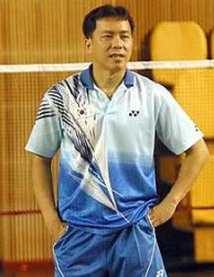 Wealth of experience: Tan Kim Her was in charge of the Malaysian doubles back-up shuttlers before venturing overseas in 2005.