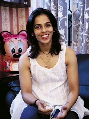 Saina Nehwal is India's top-ranked badminton player and is World Number 2. She won three Super Series tournaments this year: Singapore, Indonesia and most recently in Hong Kong. She won the gold medal at the 2010 Commonwealth Games in Delhi