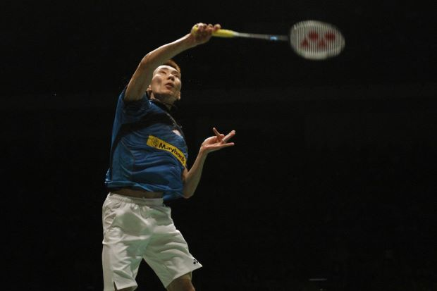 Lee Chong Wei in a file photo. He will decide on Saturday if he is going to the All-England.