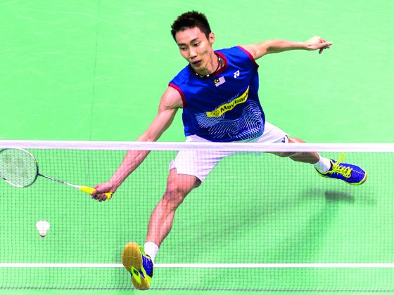 World No 1 Lee Chong Wei told the Badminton Association of Malaysia's General Manager that he was ready to take part in the Singapore Open. Photo: Getty Images