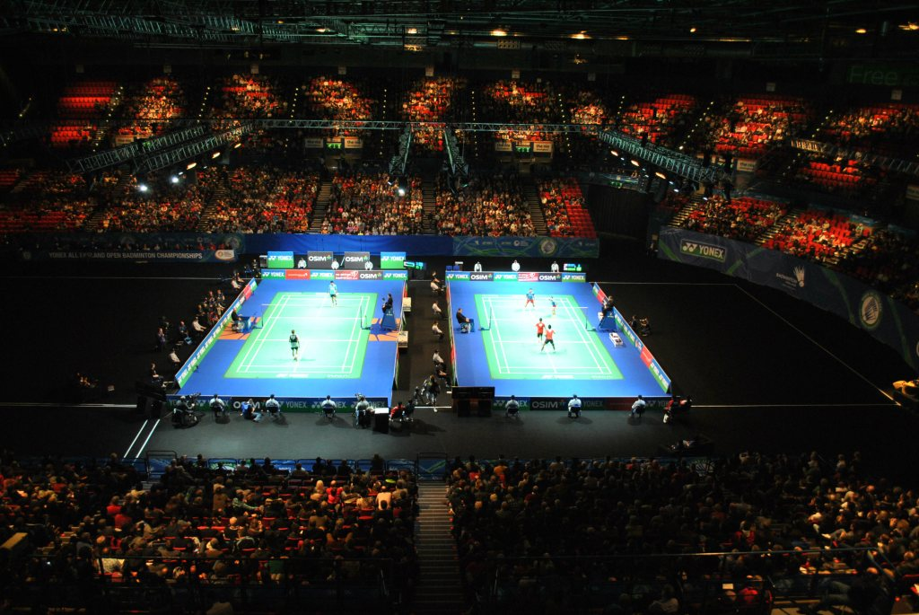 The NIA in Birmingham will host the All England Open Badminton Championships until 2021 ©Badminton England