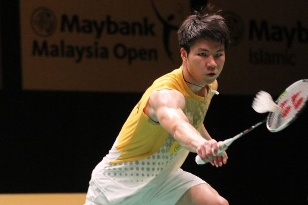Goh Soon Huat in a file photo. He vows to justify his selection into the Thomas Cup Finals squad.