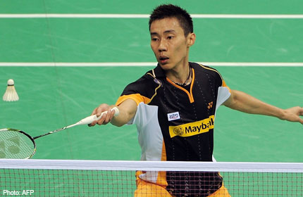 Lee Chong Wei in Thomas Cup, Wuhan