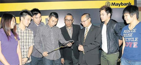 Lee Chong Wei and the Tiger-powered racquet
