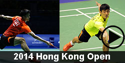 2014 Hong Kong Open Badminton videos