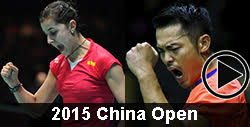 2015 China Open Badminton Videos