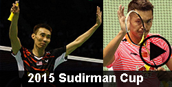 2015 Sudirman Cup badminton video