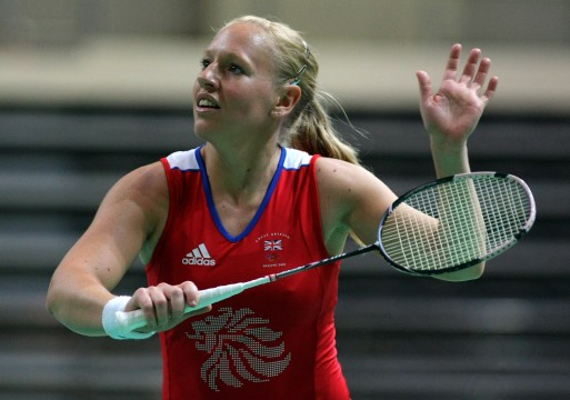 HONOURED: Olympic silver medallist Gail Emms rewarded for services to badminton
