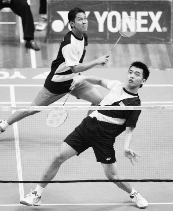 National badminton player Razif Latif was admitted to Seremban Hospital yesterday