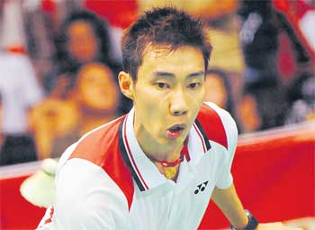 Lee Chong Wei is the only national player to qualify in the men's singles for the World Championships in India next month.
