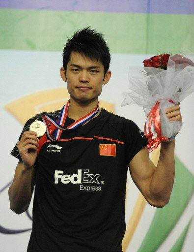 Lin Dan said hard work was the key to his success