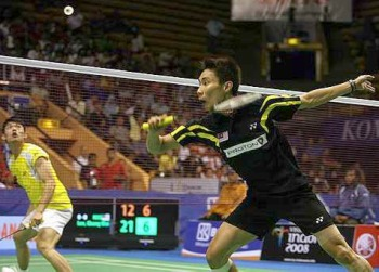 No cheer: Lee Chong Wei is the top seed while Lin Dan is seeded fourth in the China Open.