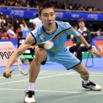 Lee Chong Wei of Malaysia failed to live up to his pre-match promise, losing to Indonesia's Simon Santoso