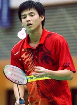 Taking off like a shuttle: Kuan Beng Hong's success in the Terengganu Open will be good for his morale.