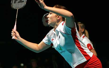 Jenny Wallwork (pictured) gave England the perfect start with partner Nathan Robertson