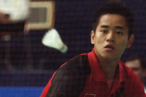 Simon Santoso will go up against China's top shuttlers at the French Open.