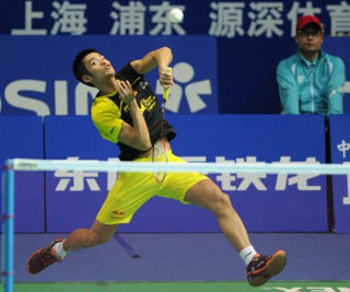 Lin Dan made it four wins out of five for his country at the China Open