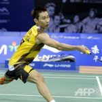 Lee Chong Wei in the Superseries Finals