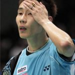 Lee Chong Wei in Thomas Cup Preliminary Round