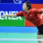 Indonesian doubles shuttler Meiliana Jauhari, left, and partner Greysia Polii secured fifth place and a likely place in the Uber Cup finals after beating Hong Kong's Poon Lok Yan and Tse Ying Suet in Macau on Sunday.