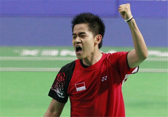 German Open GP Gold: Simon Santoso overpowers Shon Wan Ho in Men's Singles quarter-final