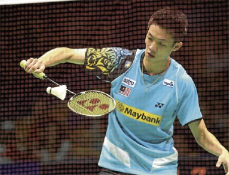 Winning start for Chong Wei