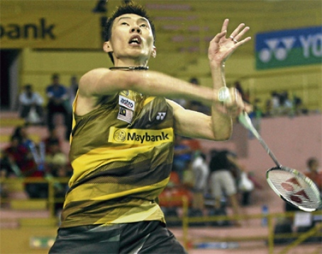 Lee Chong Wei has a fairly easy path to the final of the Denmark Open.