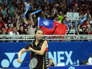 Rising badminton star Tai Tzu-ying of Taiwan won her first title of 2013 by defeating Yao Xue of China in straight sets in the final of the women's singles event at the Malaysia Open