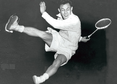Datuk Eddy Choong in action in 1953.
