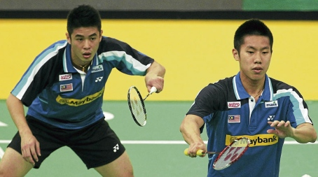 Goh V Shem (right) and Lim Khim Wah resumed their partnership in January after a six-month split.