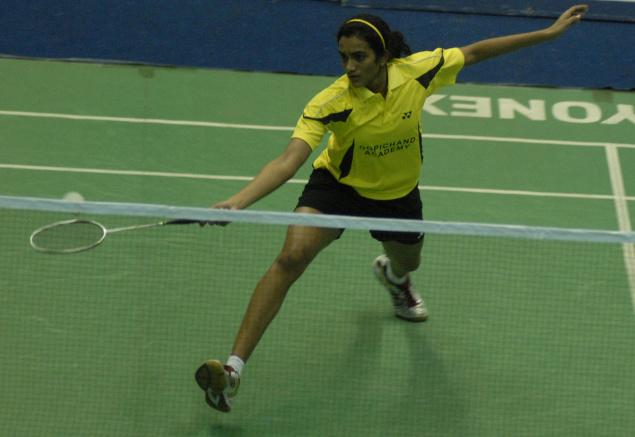 P.V. Sindhu lost her women's singles quarterfinal match against Eriko Hirose of Japan in a hard-fought contest in Taipei on Friday.