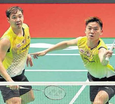 Koo Kien Keat (left) and Tan Boon Heong will be rested for Malaysia's remaining Sudirman Cup matches. Read more: SUDIRMAN CUP: Kim Her stands by fading pair