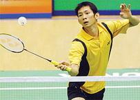Vietnam's best babminton player Nguyen Tien Minh