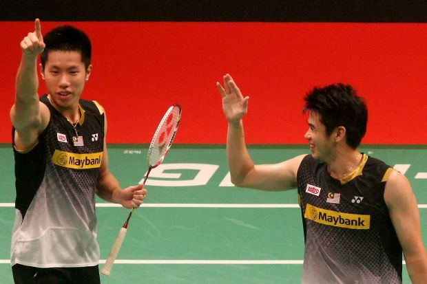 Goh V Shem (left) is prepared to make an impact with his partner Lim Khim Wah (right) at the World Championships which starts on Aug 5 at Guangzhou.