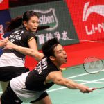 Miserable outing: Chan Peng Soon-Goh Liu Ying were beaten 18-21, 19-21 by South Korea's Kim Ki-jung-Jung Kyung-eun.