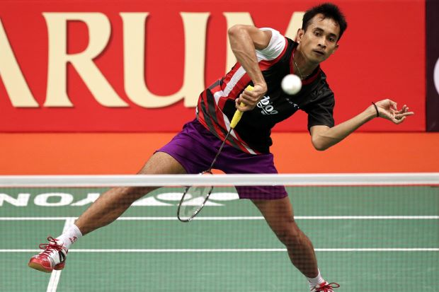 Indonesia's Dionysius Hayom Rumbaka is ready to give world No.1 Lee Chong Wei a surprise.
