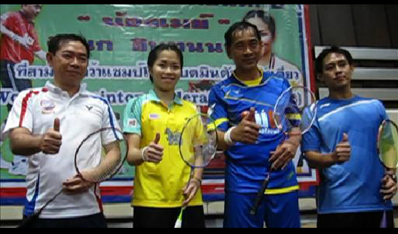 Thai Badminton Star Defeats Police Chief in Unlikely Mismatch