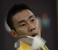 Lee Chong Wei at Indian Badminton League