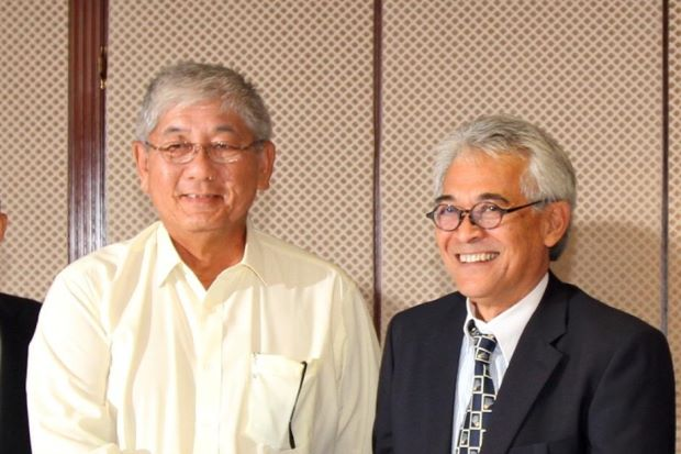 Tan Aik Mong (left) was brought in by Tengku Tan Sri Mahaleel Tengku Ariff on a voluntary basis on Sept 7 to implement changes and revive Malaysia's badminton fortunes.