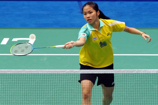 Ratchanok Intanon in a file photo. The world No. 2 takes on New Zealand's Michelle Chan on Wednesday.