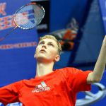 Viktor Axelsen in a file photo. He was trounced by Lee Chong Wei 21-11, 21-17 in the Denmark Open second round.
