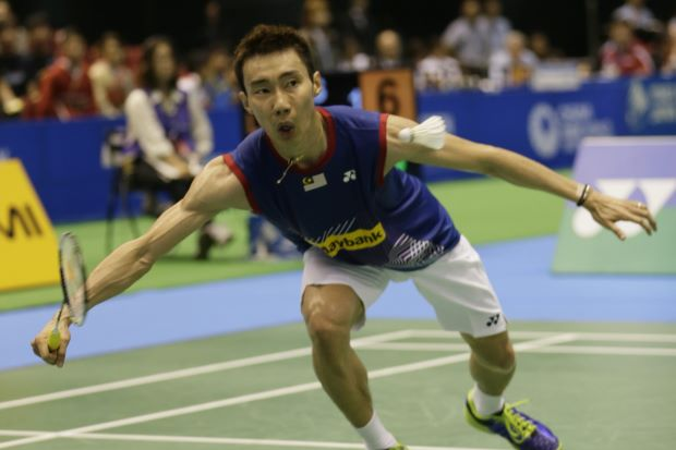 Lee Chong Wei advances to the quarter-final of the French Open with a straight sets victory over India's Ajay Jayaram on Thursday.'