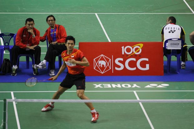 Boy to watch. Indonesia's Jonatan Christie could make a star turn at the on-going World Championships in Bangkok when the individual events begin on Monday.