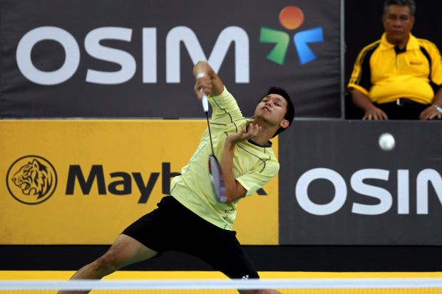 Misbun Ramdan Misbun will face Iskandar Zulkarnain Zainuddin in the quarter-finals of the KL Open on Friday.